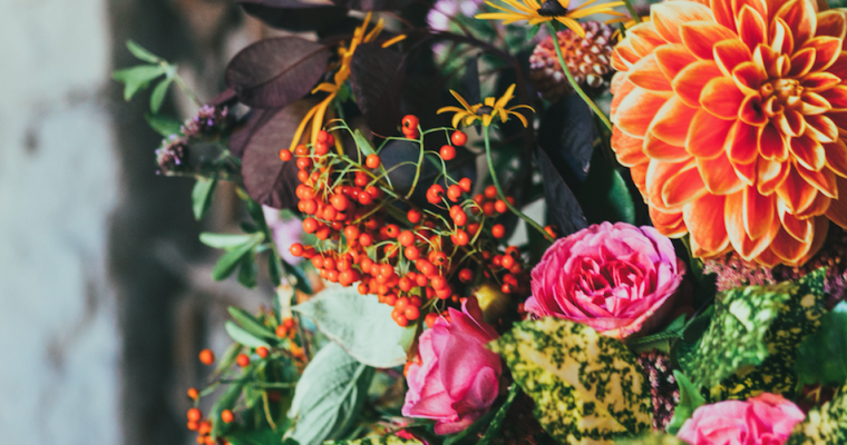 Bloemen zijn goed voor je humeur
